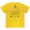 「THE PENDULUM」TOUR T-shirt(Yellow)