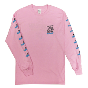 「THE PENDULUM」TOUR ロングスリーブ T-shirt(Pink)