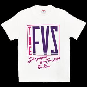 "2019 ""THE FIVES"" TOUR Tシャツ(ホワイト)"