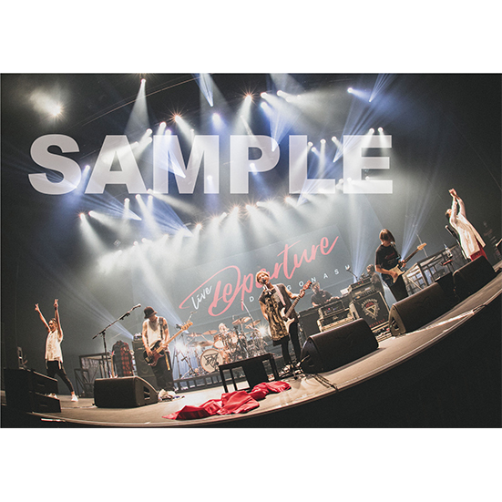 """DRAGONASH  LIVE """"DEPARTURE""""at TACHIKAWA STAGE GARDEN 写真集"""