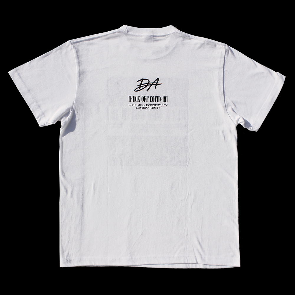 DA 2020 Winter Tシャツ (ホワイト)