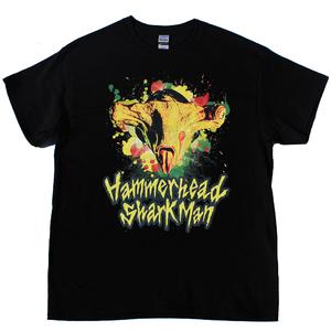 Hammerhead Shark Man Tシャツ