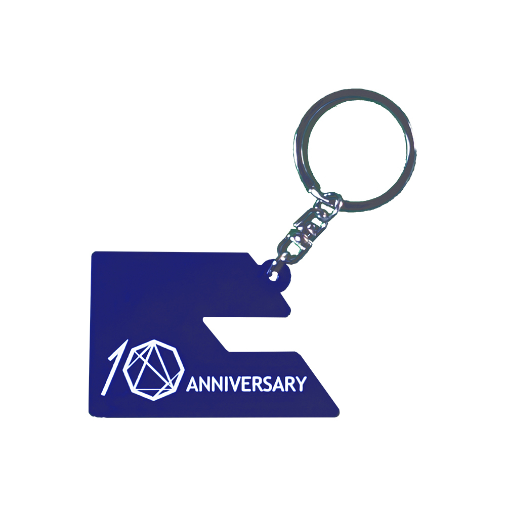 10th Anniversary ラバーキーホルダー