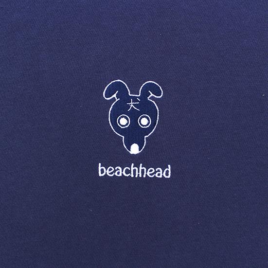 beachhead 刺繍Tee(ネイビー)