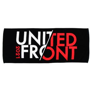UNITED FRONT 2021  タオル(ブラック)